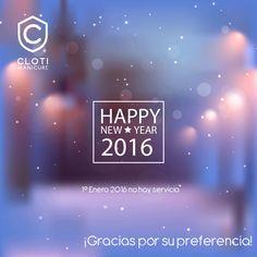 ¡Les recordamos que el día de mañana no habrá servicio en #Cloti!  Les deseamos un excelente fin de año y un hermoso inicio de año!  #Cosmopol #ClotiCosmopol #ExperienciaCloti