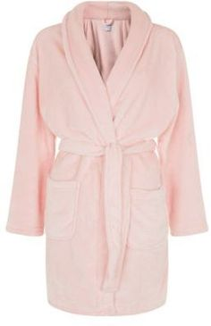 Pink Fluffy Dressing Gown