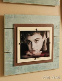 diy gallery frames. Love them!