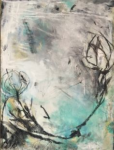 """New Work on Paper available Title: Far Nearer Dimensions: 18 x 22"""" Mixed Media $250 Ig: @alignstudiosdallas @ginamariedunn  Creating or appreciating #art is an avenue to be fully present as an instrument of #peace. If you maintain #mindfulness, nothing can upset you. You will not become #angry or #agitated. You will be able to stay #patient, #peaceful and #happy no matter what happens. This is because a negative state of mind cannot arise during a moment of mindfulness. Xxg"""