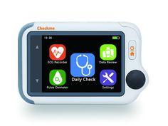 Viatom Checkme™ Lite #Health Monitor V1.1 - #ECG Recorder, #Pulse Oximeter, #Blood Pressure Track