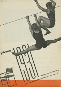 Ladislav Sutnar, Žijeme (We Live), July-August (cervenec-srpen), 1931