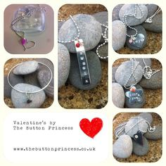 Tomorrow is the last chance to order your Valentines gifts from The Button for guaranteed delivery on the big day   If I can help please shoot me a message at info@thebuttonprincess.co.uk ✍  #jewellery #jewelry #silver #handmade #original #valentines   www.thebuttonprincess.co.uk
