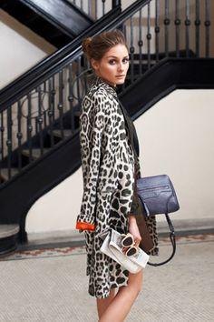 olivia palermo #leopard fantastico!