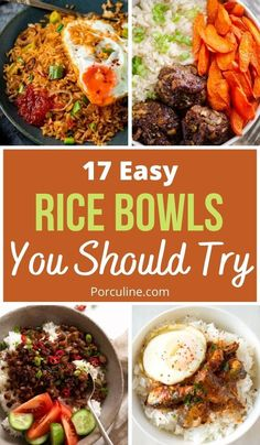 Rice Recipes, Side Dish Recipes, Lunch Recipes, Easy Dinner Recipes, Seafood Recipes, Asian Recipes, Vegetarian Recipes, Cooking Recipes, Kitchens