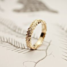 I absolutely adore this golden ring!