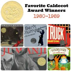 Our personal Favorite Caldecott Books from the 1980s