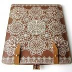 (the case & the iPad).Leather iPad case White lace by tovicorrie on Etsy Leather And Lace, Leather Case, Tan Leather, Ipad Case, Laptop Case, White Lace, Best Gifts, Iphone Cases, Geek Stuff
