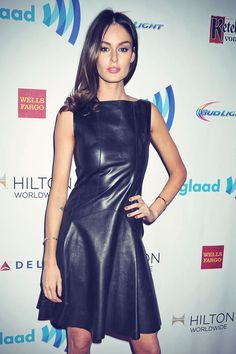 Nicole Trunfio attends the 25th Annual GLAAD Media Awards on May 3, 2014 in New York City