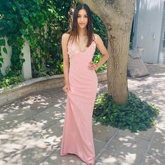 Charming Prom Dress,Chiffon Prom | burgundypromdress Prom Dresses Long Pink, Prom Dresses With Pockets, V Neck Prom Dresses, Tea Length Dresses, Sexy Dresses, Evening Dresses, Formal Dresses, Party Dresses, Applique Dress