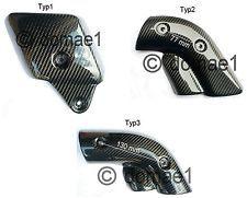 carbon Hitzeschutz Ducati 748 916 996 998 Auspuff Verkleidung Abdeckung Blende