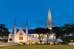 Saint Andrews Cathedrals, Singapore    Completed in 1836, Saint Andrew's is Singapore's largest cathedral and crystallizes the desire of Victorian colonizers for a place to practice their Anglican faith in a familiar setting.