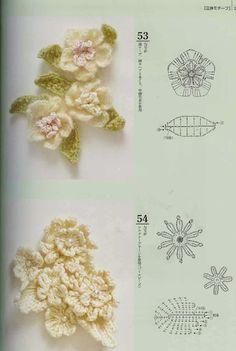 Los Tres Botones: flor