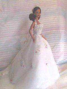 barbie brides wedding bridal gowns...1...4 qw