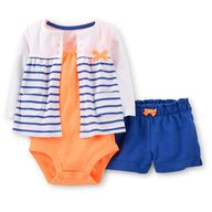 if i have a girl im gonna LOVE orange & navy blue combos...no hot pink please!