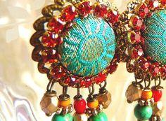 Emerald Silk by ellivira on Etsy