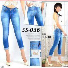 """""Celana jeans 7/8 RIJ 55036 Material: soft jeans Harga: 135 Size: 27-30 Order PIN CS1-5A1F32FA PIN CS2-5FI5DE72 & SMS/WA 087722-575-101  Reseller & Dropship Welcome!  Happy Shopping! :) #jamtangan #jamtanganwanita #jammurah #grosirjam #sweatercouple #flatshoes #jamtanganterbaru #resellerjamtangan #taswanita #sneakerscwe #celanajeansripped #jamtanganartis #olshop #wedgesterbaru #jaketjeans  #resellerwelcome #celanajeans #sepatubandung #celanajeanshw"