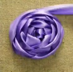 silk ribbon for embroidery supplies Basic Embroidery Stitches, Hand Embroidery Videos, Embroidery Stitches Tutorial, Embroidery Flowers Pattern, Silk Ribbon Embroidery, Hand Embroidery Designs, Rose Embroidery, Embroidery Supplies, Fabric Roses Diy