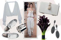 Mescle peças dos universos da lingerie e do esportivo no look pré-casamento