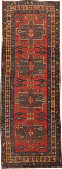 Antique Karajeh Rug by Nazmiyal