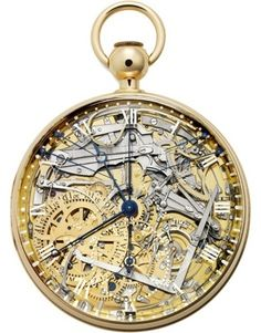 Breguet's Marie Antoinette pocket watch