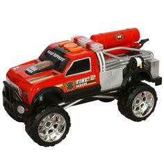 Road Rippers s Heavy Duty Rush & Rescue Fire Truck - Toys & Games - Vehicles & Remote Control Toys - Military & Rescue Vehicles
