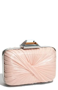 Sondra Roberts Pleated Box Clutch   Nordstrom - StyleSays