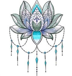 mandala+flor+de+loto+tatuaje.jpg (450×473)