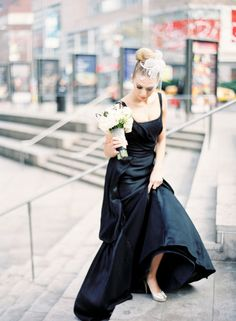 Black wedding dress <3