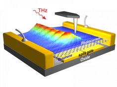 On-chip observation of THz graphene plasmons opens new horizons Physics Research, Electronic News, Material Science, Hexagon Pattern, Brave New World, Stem Projects, Research And Development, Nanotechnology, Future Tech