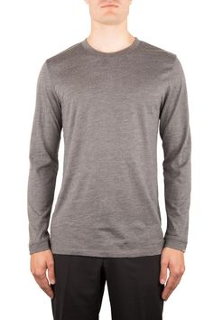 TRACE |MERINOWOOL LANGARM | Funktion Schnitt #merino #merinowool #longsleeve #tshirt #shirt #mensstyle #menswear #fashion #mensfshion #business #look #funktionschnitt #casual #basic #grey