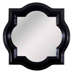Threshold Clover Mirror, another quatrefoil mirror from target, but I would want it in white or to paint it white