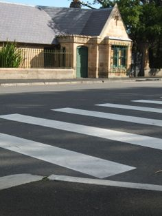 zebra crossing near st marys, taken from a different angle