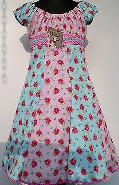 Roos Farbenmix Dress Elodie Carmen Dress Flared Dress School Party Size 122-128