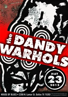 GigPosters.com - Dandy Warhols, The