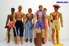 Big Jim and friends was a popular line of action figures produced from 1972-86 by Mattel. Description from pinterest.com. I searched for this on bing.com/images