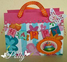 Manualidades Polly: Reto 5 - Dulcero con Abbondanza Fiesta