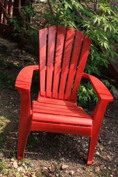 How To Repaint Plastic Lawn Chairs And Furniture & Bring new life to old plastic patio furniture with spray paint for ...