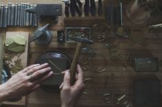 Today we're excited to share a glimpse into the studio of jewelry designer Hannah Ferrara, who will be bringing her line of handmade jewelry, Another Feather, to Renegade Craft Fair Winter Market in Chicago this weekend! Her photos are decidedly summery, and transport us back to a moment in the most beautiful week of summer. …