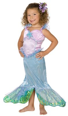 Costume sirena bambina http://www.vegaoo.it/travestimento-sirena-bambina.html