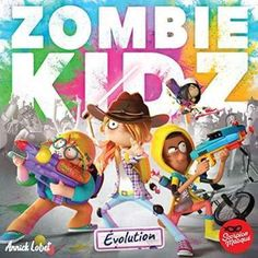 Zombie Kidz Evolution by Le Scorpion Masque Zombie Board Game, Games Zombie, Old School Board Games, Fun Board Games, Family Games, Games For Kids, Games To Play, Evolution, Leadership Activities