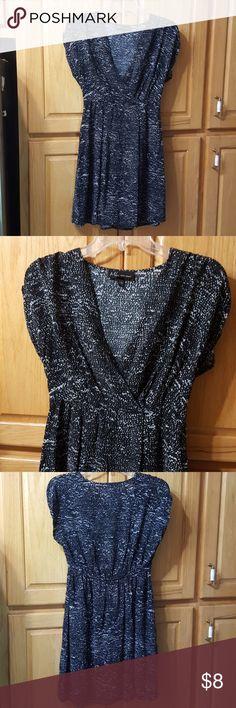Maxim Liberati Dress Size XS Lightly worn.  Very soft dress.  Black & white. Maxim Liberati Dresses