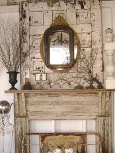 faux fireplace mantles