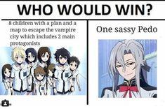 All Anime, Me Me Me Anime, Anime Love, Funny Naruto Memes, Stupid Funny Memes, Manga, Mikaela Hyakuya, Animes On, Seraph Of The End