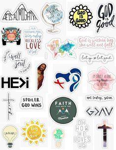 Christian Stickers - Christian stickers bible verses Christian sticker pack Jesus God church God is good aesthetic cute - Snapchat Stickers, Phone Stickers, Cute Stickers, Diy Phone Case, Phone Cases, Beauty Nail, Wall Paper Phone, Mac Book, Tumblr Stickers