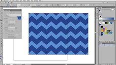 Illustrator Tutorial: Easy Chevron Pattern (CS6 and earlier)