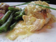Ina garten's Chicken with Shallots in a White Wine Lemon Sauce