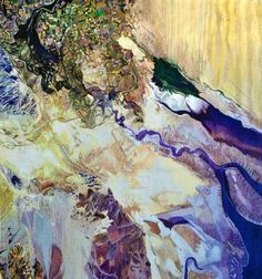 Colorado River Delta, 2012, courtesy of Thomas Robertello Gallery.