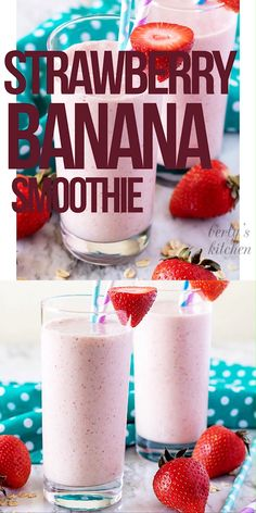 most current photographs Health for kids food love recipe, Healthy Strawberry Banana Smoothie Recipe! Strawberry Banana Smoothie Recipe with Milk. Strawberry smoothie with oats. Best Smoothie for kids. Breakfast Smoothie Recipes, Easy Smoothie Recipes, Banana Breakfast, Milkshake Recipes, Homemade Smoothies, Milkshakes, Drink Recipes, Dairy Queen Smoothie Recipe, Recipes With Milk