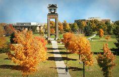 Missouri Western State University clock tower